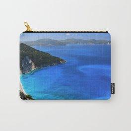 myrtos beach, kefalonia Carry-All Pouch