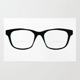 Pair Of Optical Glasses Rug