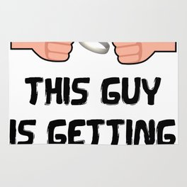 This Guy Is Getting Married Funny Groom Rug