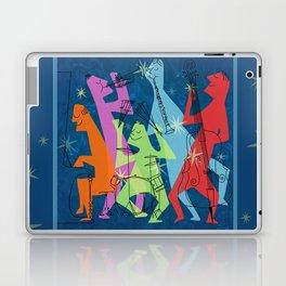 Mid-Century Modern Jazz Band Laptop & iPad Skin
