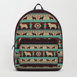 Boho dogs | Berner Sennenhund/Bernese mountain dog sunset Backpack