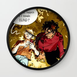 The Drunk Leading the Blind Wall Clock