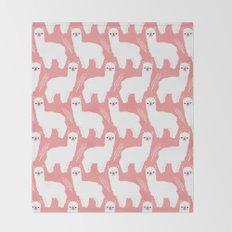 The Alpacas II Throw Blanket