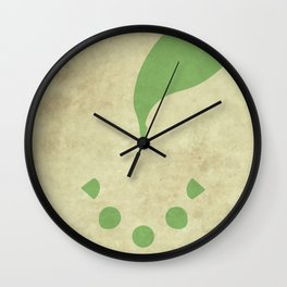 Chikorita Wall Clock