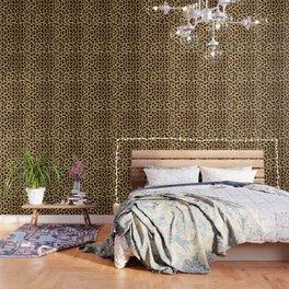 Faux Cheetah Skin Design Wallpaper