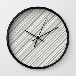 Just Stripes 5 Wall Clock