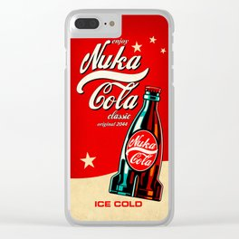 Nuka Cola - Fallout Clear iPhone Case