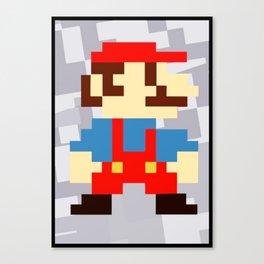 1up soda mario bros and gaming Canvas Print