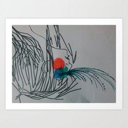 Shchekotiki Art Print