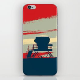 Tower Graphic iPhone Skin