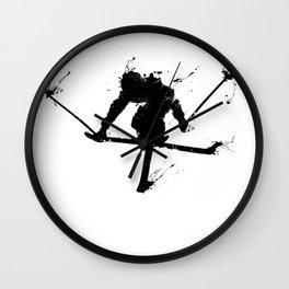 Ski jumper Wall Clock