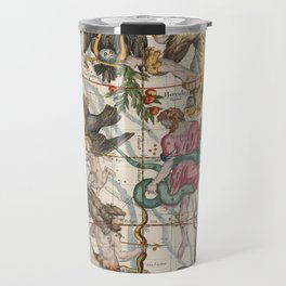 Vintage Constellation Map - Star Atlas - Sagittarious - Scorpio Travel Mug