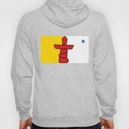 Flag of Nunavut - High quality authentic version Hoody