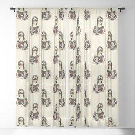 The Crane Wife Sheer Curtain