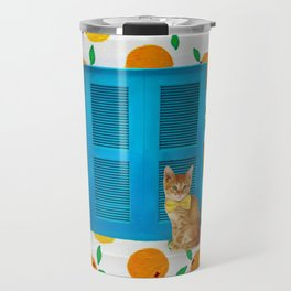 How Much is that Kitty in the Window? Travel Mug