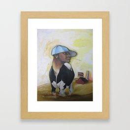 MC Bovine Framed Art Print