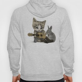 THE CAT AND THE RABBIT Hoody