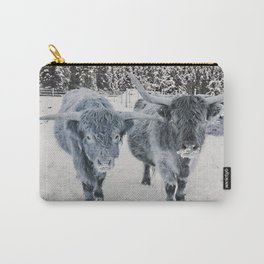 Scotish Highland cattle Carry-All Pouch