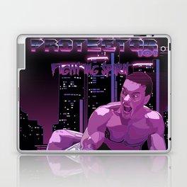 Van Damme vs. Robocop fighting spirit Laptop & iPad Skin