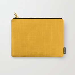 Bright Beer Yellow Simple Solid Color All Over Print Carry-All Pouch