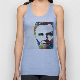 Abraham Lincoln Art - Colorful Abe - By Sharon Cummings Unisex Tank Top