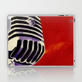 Microphone Painting Laptop & iPad Skin