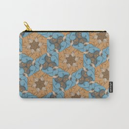 Reclining Dudes Tessellation Carry-All Pouch