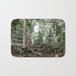 Ta Phrom, Angkor Archaeological Park, Siem Reap, Cambodia Bath Mat