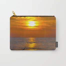 Red Evening Sun Carry-All Pouch