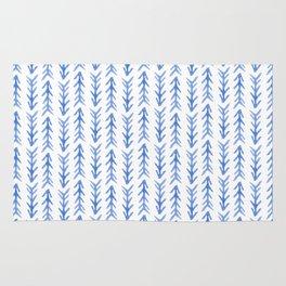 Watercolour Arrow Pattern Rug