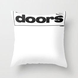 Master Key Throw Pillow