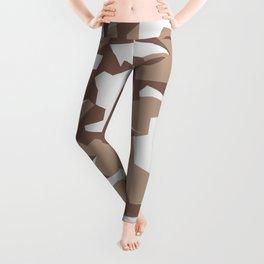 Camouflage Splinter Pattern Desert Leggings
