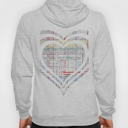 The System - heart Hoody