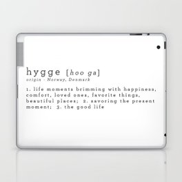 THE MEANING OF HYGGE Laptop & iPad Skin