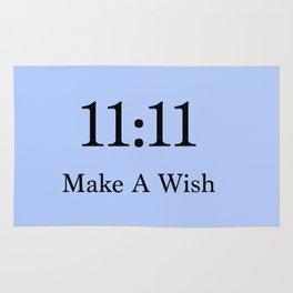 Make a wish baby blue Rug