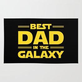 Best Dad in the Galaxy Rug
