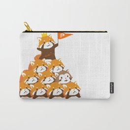RED PANDA: PYRAMID Carry-All Pouch