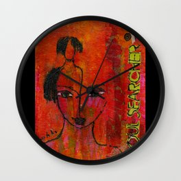 Soul Searcher Wall Clock