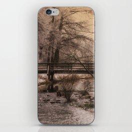 Dream time winter landscape iPhone Skin