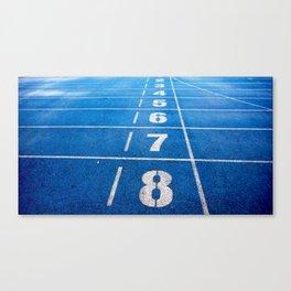Athletics Canvas Print