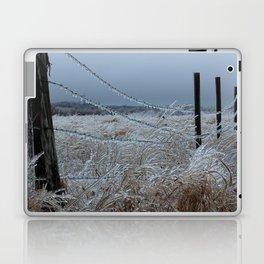 Kansas Icy Fence Laptop & iPad Skin