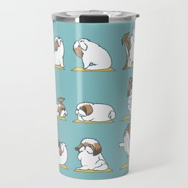 Shih Tzu Yoga Travel Mug