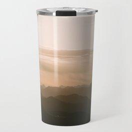 Mountain Sunrise in the german Alps - Landscape Photography Travel Mug