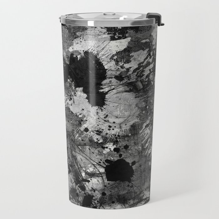 Lost In Contrast Travel Mug