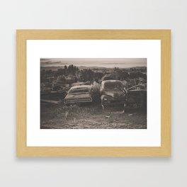 Baker Ranch Framed Art Print