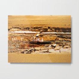 Sand ground Metal Print