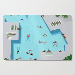Crisp cut swim Cutting Board
