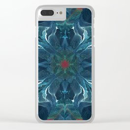 Valor and Mercy Clear iPhone Case
