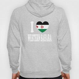I Love Western Sahara Hoody