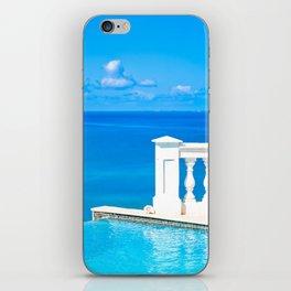 infinitely blue iPhone Skin